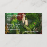 Red Haired Mermaid Business Cards