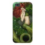 Red Haired Mermaid iPhone SE/5/5s Case