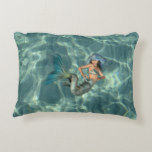 Underwater Mermaid Decorative Pillow