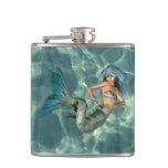 Underwater Mermaid Flask