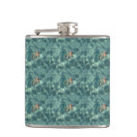 Underwater Mermaid Hip Flask