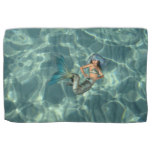 Underwater Mermaid Kitchen Towel