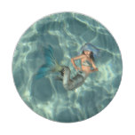Underwater Mermaid Paper Plate