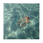 Underwater Mermaid Tile