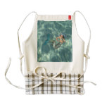 Underwater Mermaid Zazzle HEART Apron